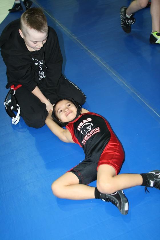 Wrestle Hazing