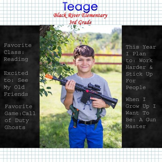 Teage Back to School 2014